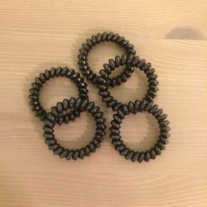 5 pcs Elastic Telephone Wire Hair Band